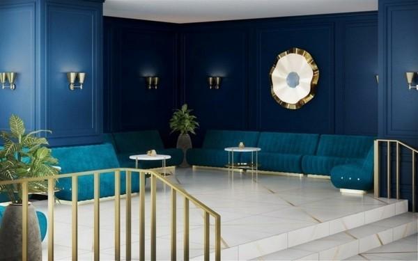 Pantone Farbe des Jahres 2020 Classic Blue klassisches Blau
