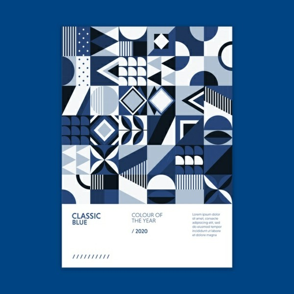 Pantone Farbe des Jahres 2020 Classic Blue