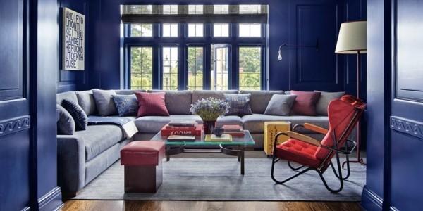 Pantone Farbe des Jahres 2020 Wandfarbe Classic Blue Trendfarbe
