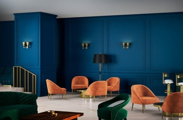 Pantone Farbe des Jahres 2020 Wandfarbe Classic Blue
