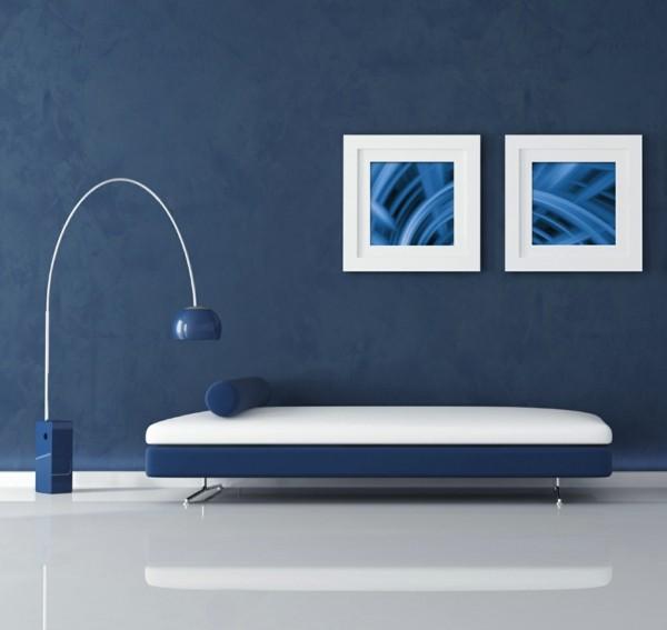Pantone Farbe des Jahres 2020 klassisches Blau Classic Blue Inneneinrichtung