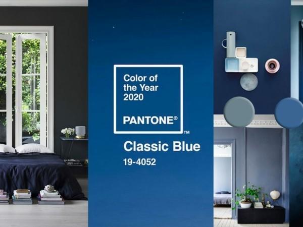 Pantone Farbe des Jahres 2020 klassisches Blau Classic Blue Nummer