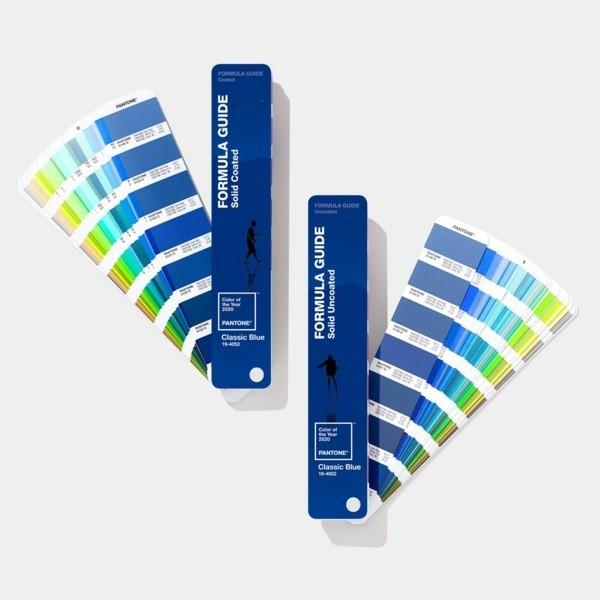 Pantone Farbe des Jahres 2020 klassisches Blau Farbpalette