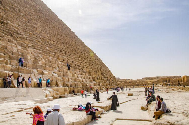 Reiseziele 2020 die Pyramiden von Gizeh Kairo Ägypten