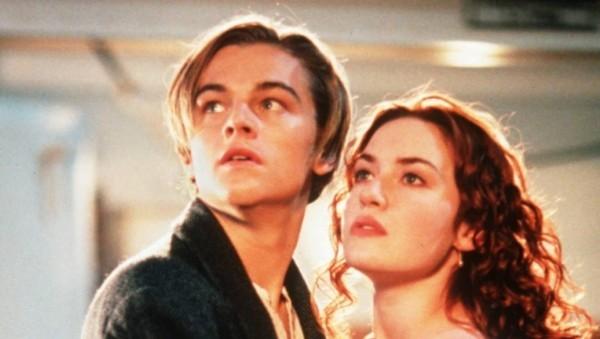 Szene aus Titanic - Leonardo diCaprio