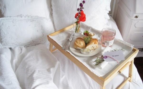 Tablette Ideen - Valentinstag Frühstücksideen