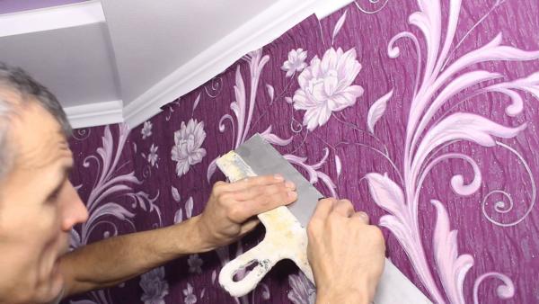 Tapeten abmachen ablösen Tricks Tipps Wohnzimmer Ideen