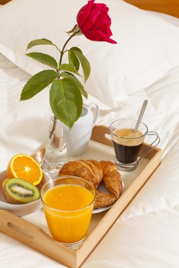 Valentinstag Frühstück einfache Frühstücksideen
