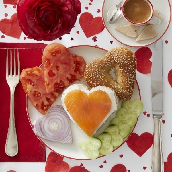Valentinstag Frühstück - gesund essen Ideen