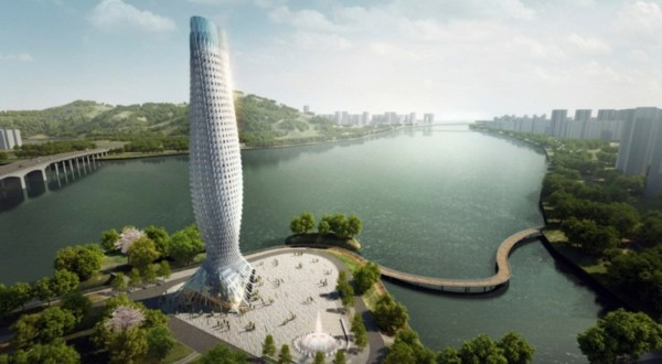 bioinik beispiele architektur scaly tower zhuhai china