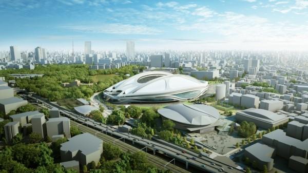 bioinik beispiele zaha hadid projekt nationalstadium tokio
