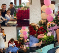 Cristiano Ronaldo feiert auf einer romantischen Art und Weise den Geburtstag von Georgina Rodrigues