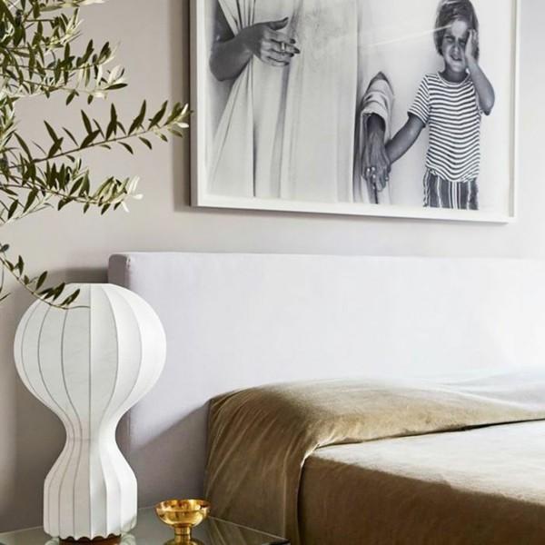 elegantes gästezimmer einrichten mit pflanzen und samt