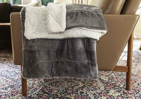 fleece tagesdecke warm