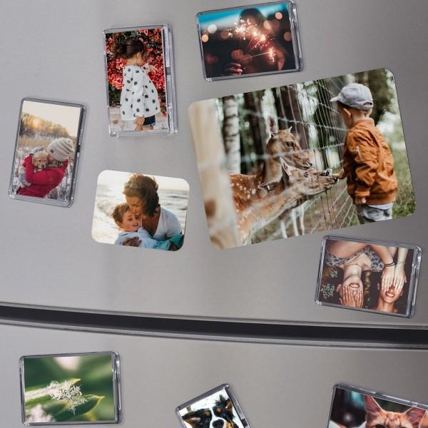 fotomagnete diy - wunderbarer kühlschrank