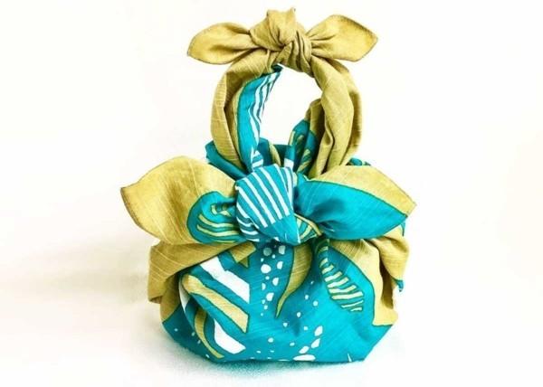 furoshiki tuch falten geschenkverpackungen