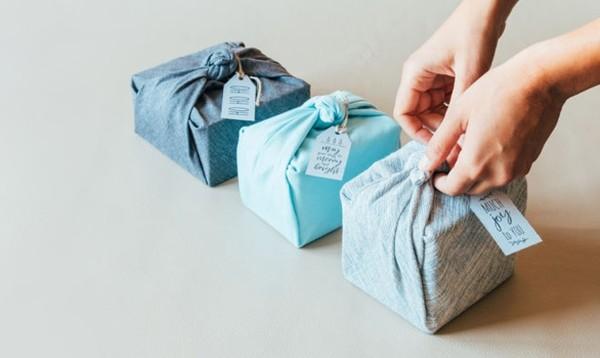 furoshiki tuch geschenke verpacken