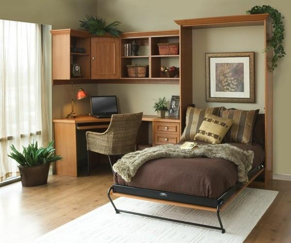 gästezimmer einrichten mit klappbett