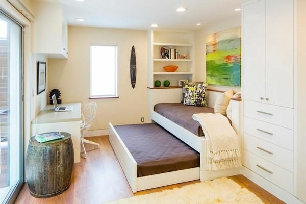 gästezimmer einrichten mit platzsparenden möbeln
