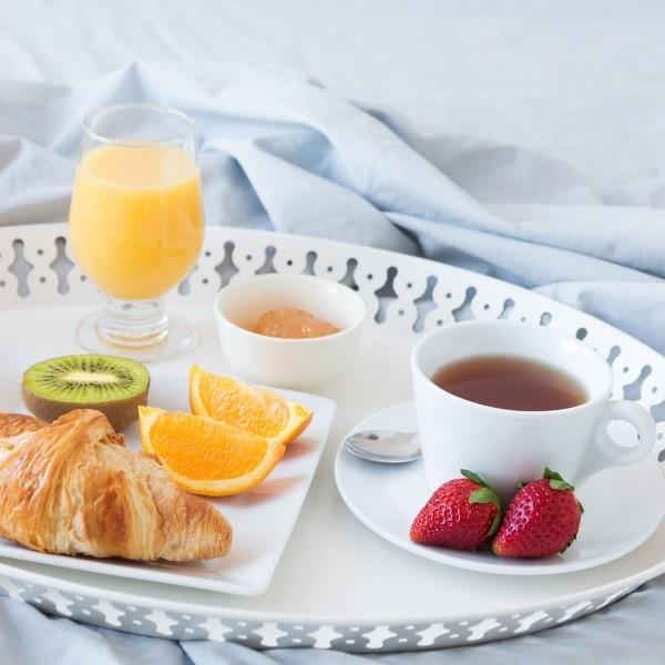 gesundes und leckeres Frühstück - tolle Ideen Valentinstag Frühstück