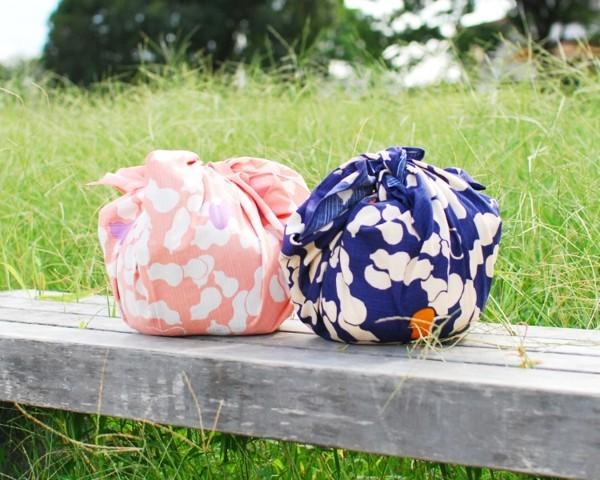 japanische furoshiki tuch falttechnik