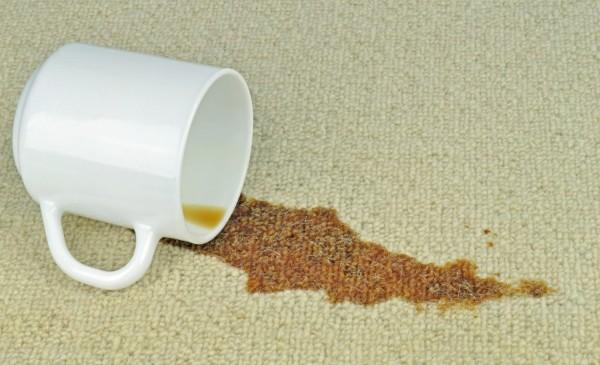 kaffeflecken entfernen ideen reinigung zuhause