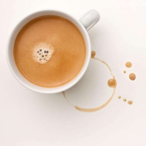 kaffeflecken entfernen tasse kaffe