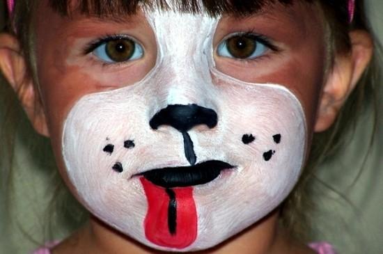 kinder schminken zum karnival