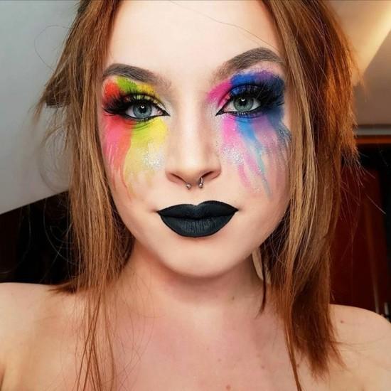 kreative schminkideen zum karneval