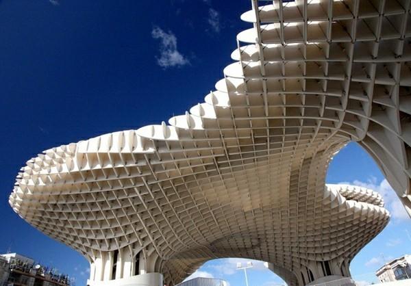 metropol parasol sevilla bionik beispiele architektur