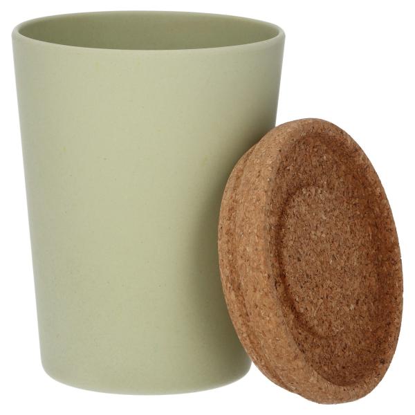 neutrale farben kaffeebecher bambus