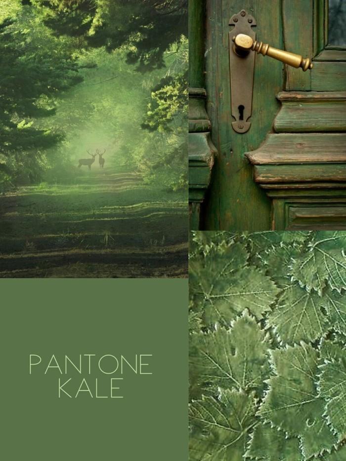 sanfte grüntöne pantone kale