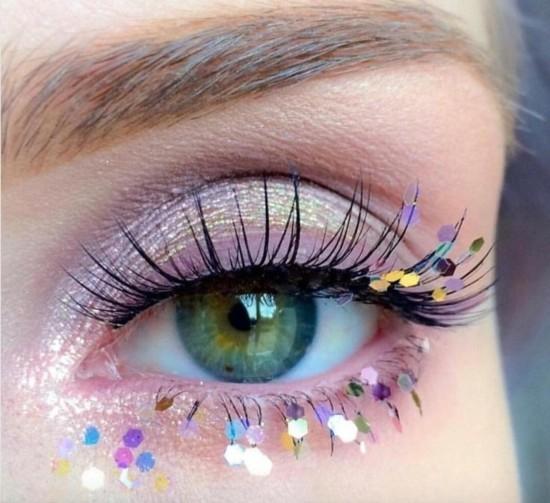 schminkideen zum karneval augen schminken
