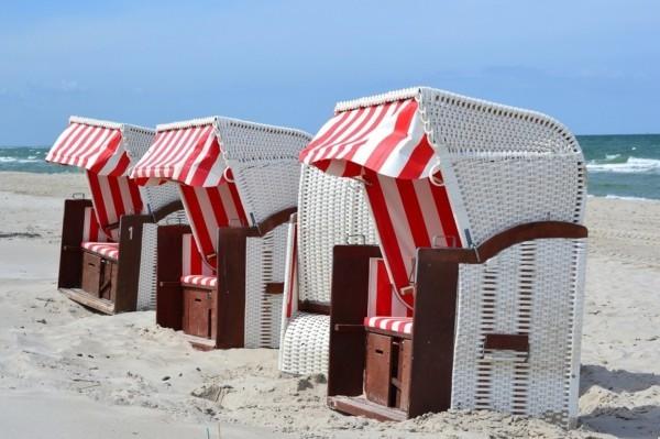 strandkörbe strand