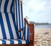 Strandkorb im Garten – Tipps, die Ihnen ein tägliches Urlaubsfeeling ermöglichen