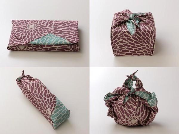 vier methoden furoshiki tuch geschenkverpackungen