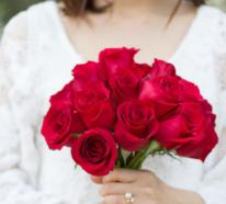 Blumen zum Valentinstag machen das Fest der Liebe noch schöner und romantischer