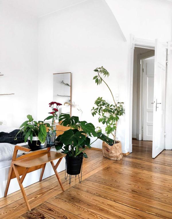 Boden aus Holz Ideen Wohnung einrichten