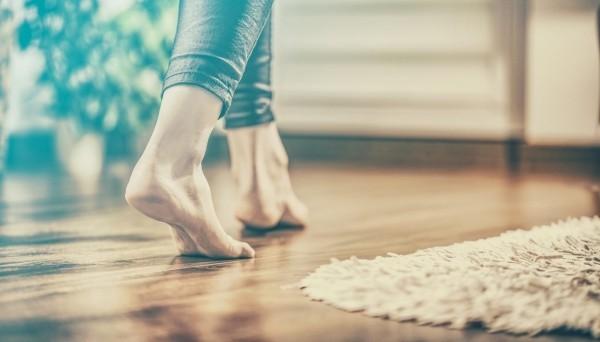 Bodenheizung - ein kleiner Teppich