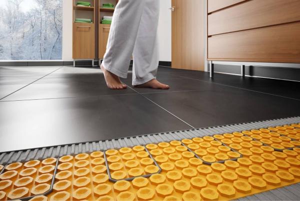 Bodenheizung - warm unter den Füßen