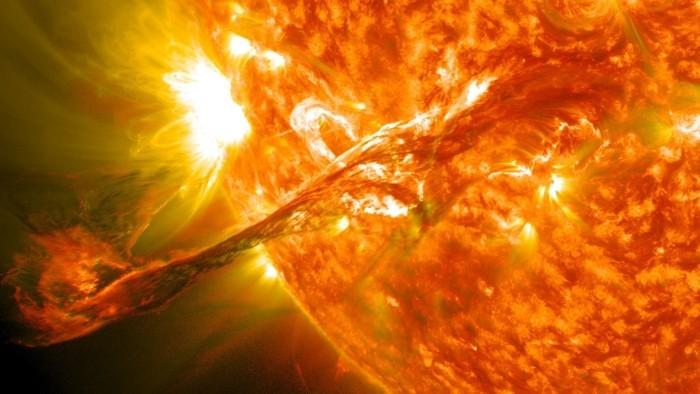 Das detaillierteste Foto, das je von der Sonne aufgenommen wurde unsere sonne stern korona
