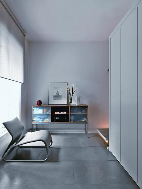 Elegantes modernes Zimmer Wohnung einrichten