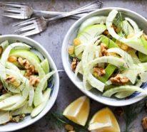 Fenchel, gesundheitliche Vorteile und ein einfaches Rezept für Fenchelsalat mit Orangen