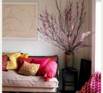 Romantische Frühlingsdeko mit Kirschblüten – lassen Sie Ihr Zuhause erblühen!