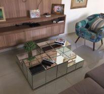 40 Ideen für Wohnzimmertisch-Deko im Rahmen moderner Inneneinrichtungen