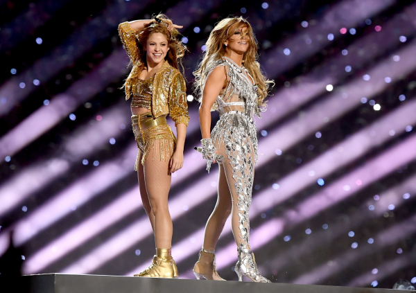 Jennifer Lopez Shakira Super Bowl 2020