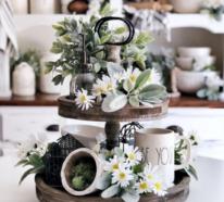 Inspirierende Ideen, wie Sie Ihre Küche frühlingshaft dekorieren
