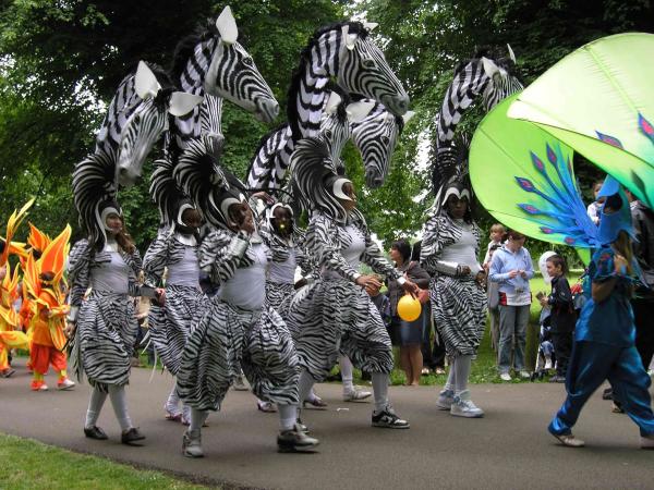 Karnevalskostüme Tiermuster Ideen