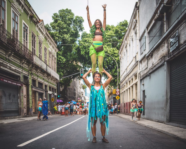 Karnevalskostüme exotische Ideen für den Karneval