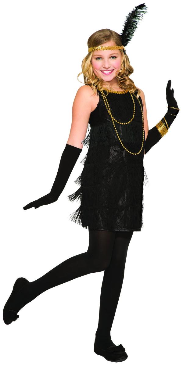 Karnevalskostüme - schöne Dame in schwarzer Farbe